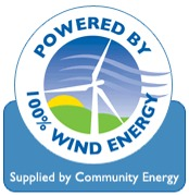 Your NOKR is powered by volunteers and 100% wind energy